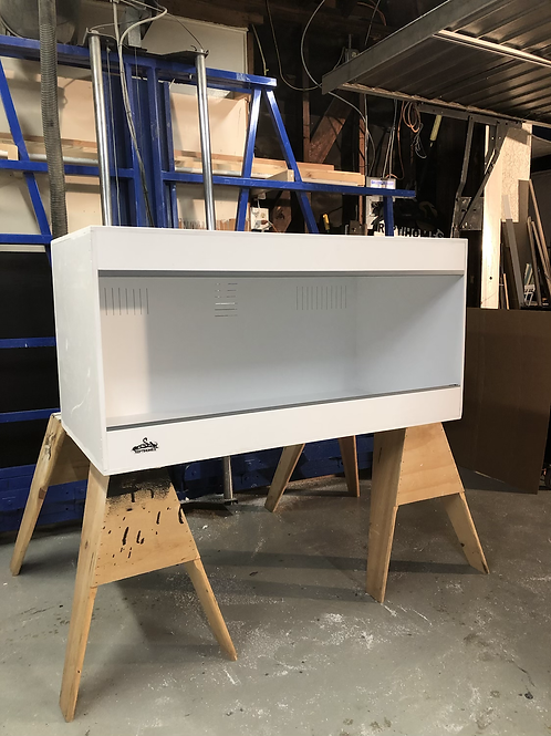4x2x2 All White PVC Enclosure