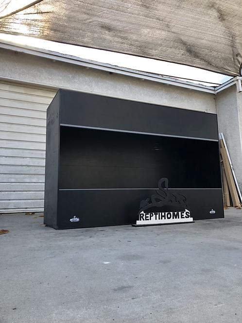 6x2x4 All Black PVC Enclosure