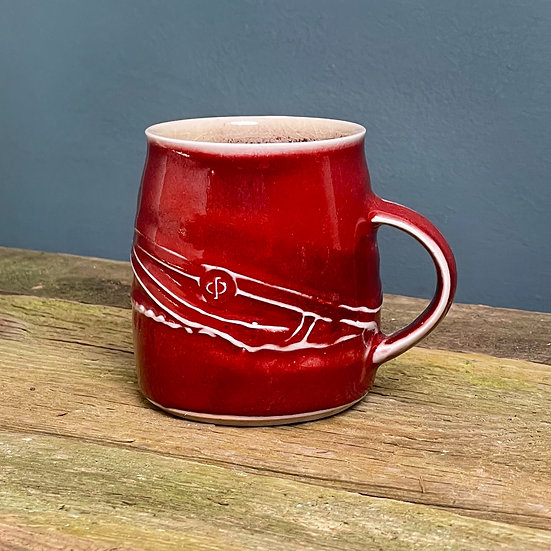 Small Cup, Copper Red