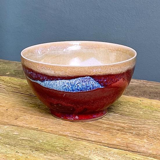 Small Bowl, Copper Red Glaze
