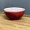 Thumbnail: Small Bowl, Copper Red & Purple