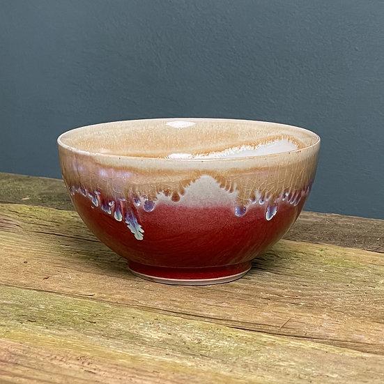 Small Bowl, Copper Red