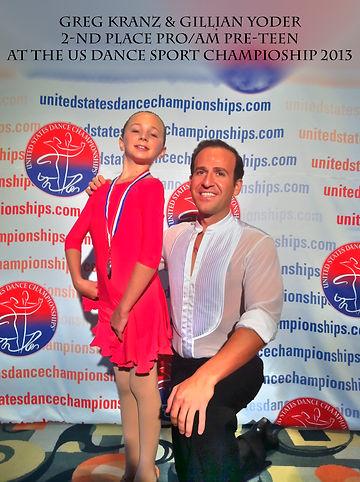 ParamountUS 2nd place Champion - Paramount Ballroom - Palm Beach