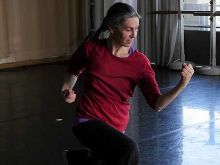stage 23-24 nov. - DANSE IMPROVISATION ET COMPOSITION EN TEMPS REEL - Paris
