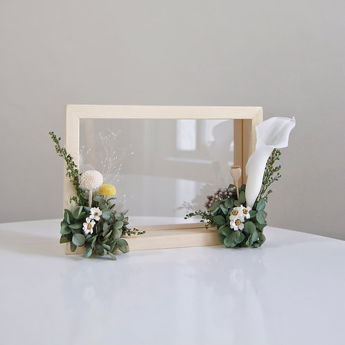 Calla Lily Wooden Frame