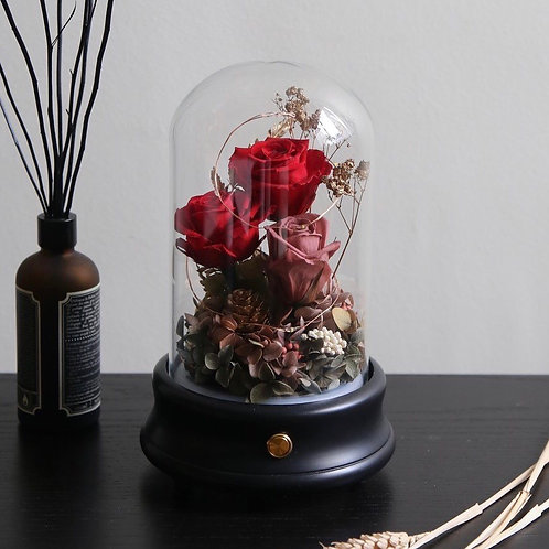Premium Red Roses Bluetooth Speaker