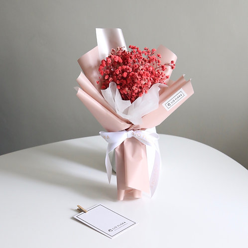 Pink Baby's Breath Bouquet
