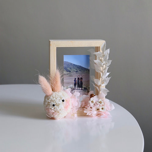 Bunny Wooden Frame