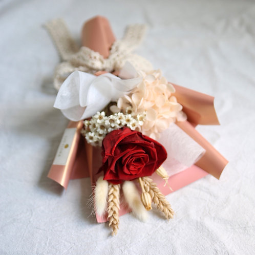 Single-Stalk Bouquet - Red Rose