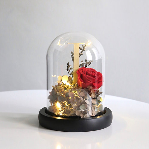 Monogram LED Bell Jar