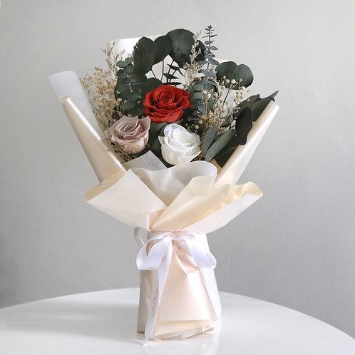 Three-Stalk Rose Bouquet