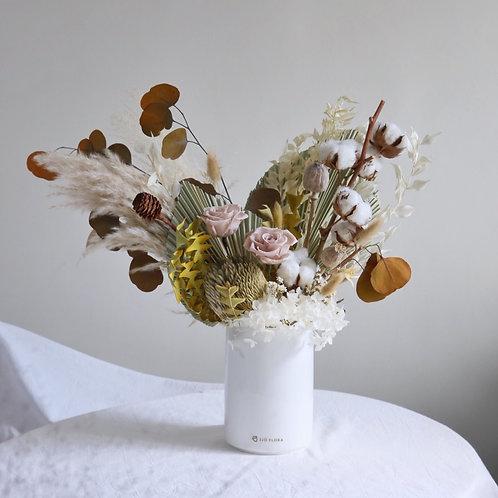 Rustic Floral Vase