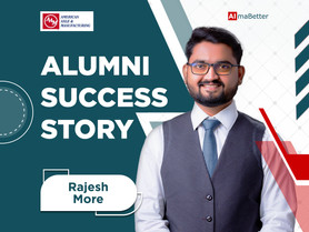 Rajesh's success story - Detailed story coming soon