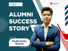 Sudhanshu's success story - Detailed story coming soon