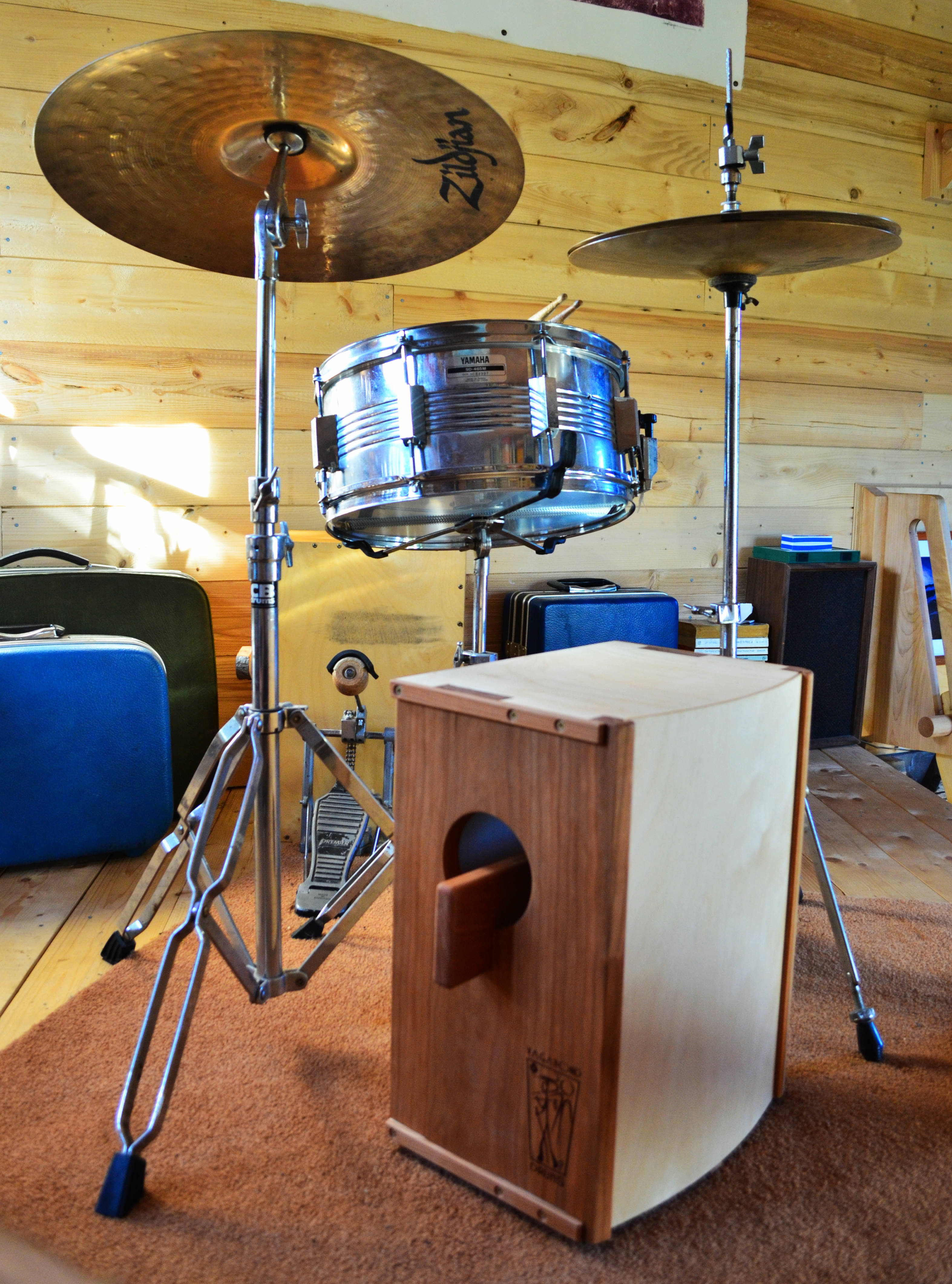Drum Set Not Included