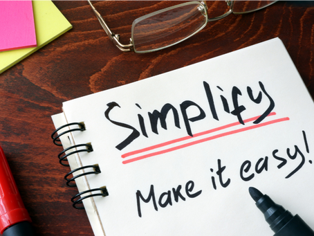 3 Ways to Simplify Your Life For Success