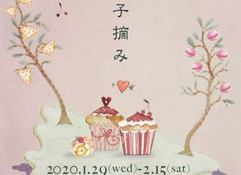ranbu 企画展「お菓子摘み」2020