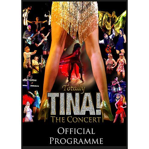 Totally TINA Souvenir Programme