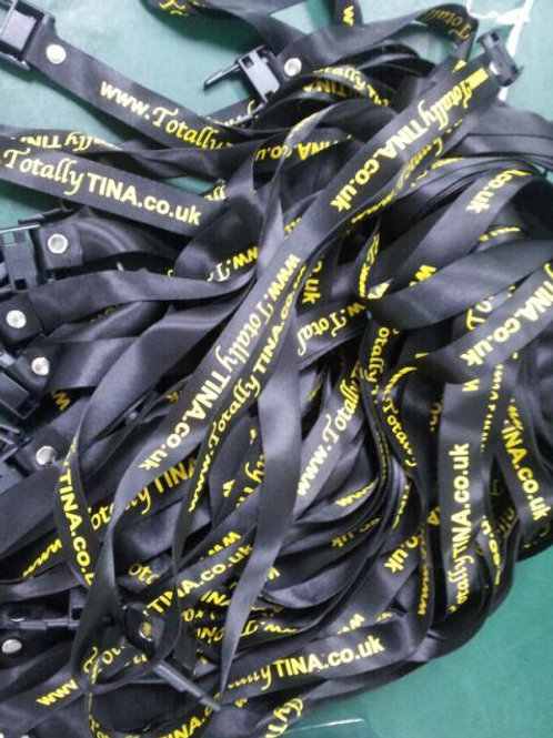 Totally TINA Lanyard with memory stick