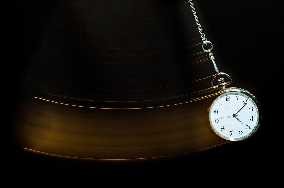 Reloj de bolsillo de balanceo