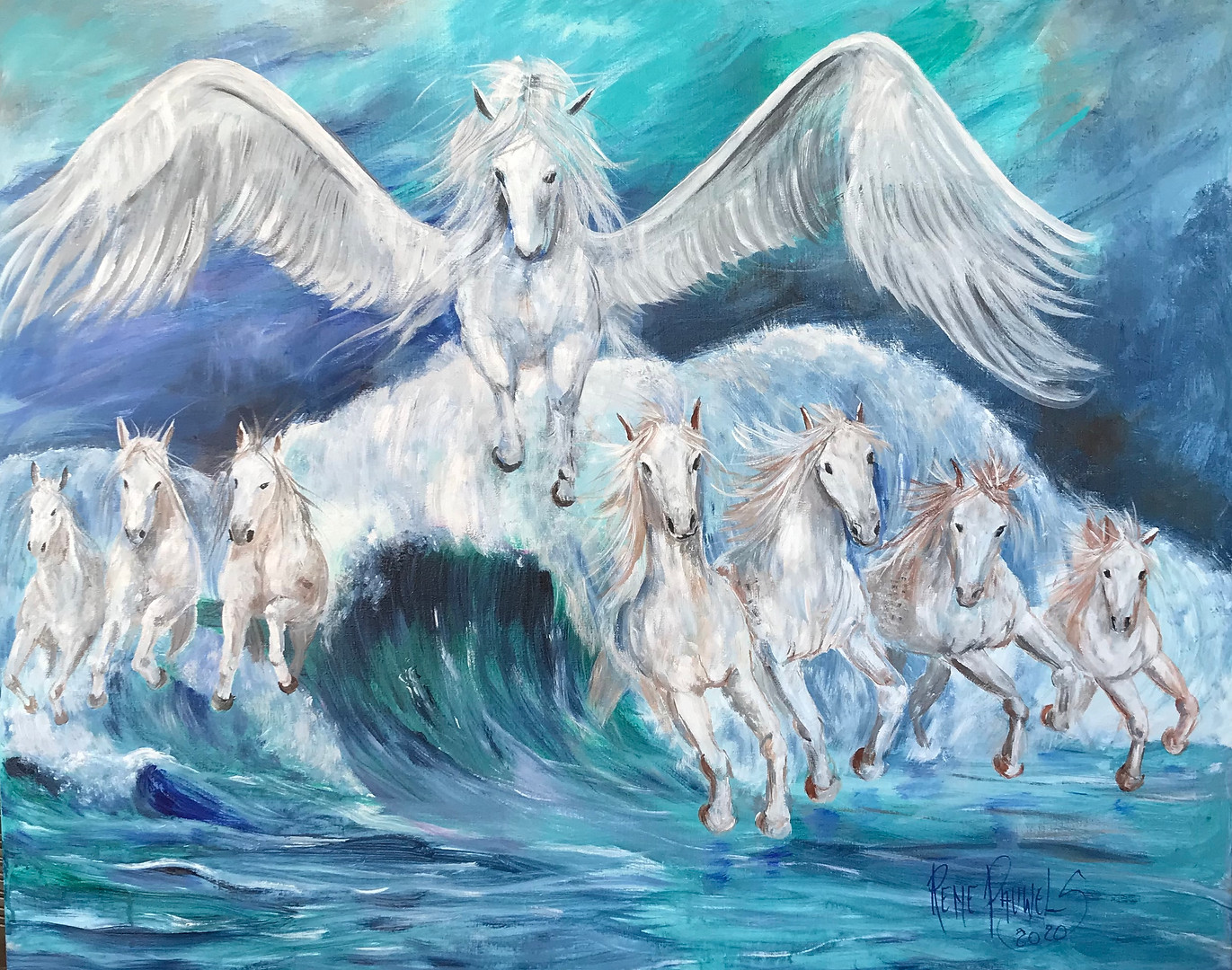 Pegasus,the Legend    SOLD
