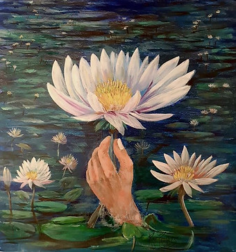 I give you a Lotus Flower