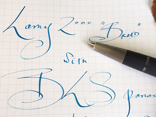 Lamy 2000 with signature BLS modification