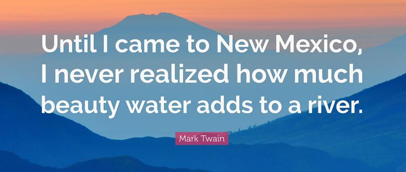 Mark Twain in New Mexico