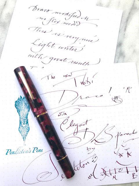 TWSBI Draco Modified Nib Fountain Pen