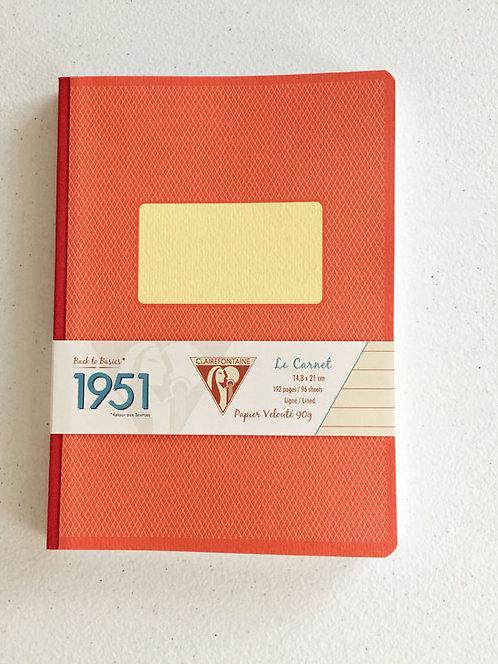 Clairefountaine 1951 Vintage Clothbound Notebook