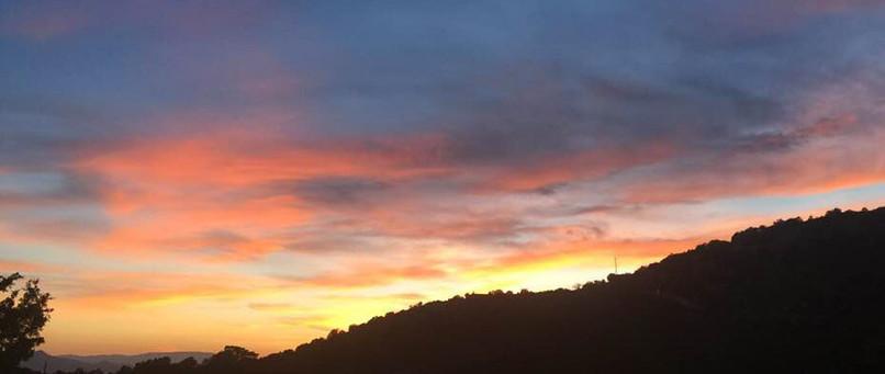 Santa Fe, New Mexico Sunset