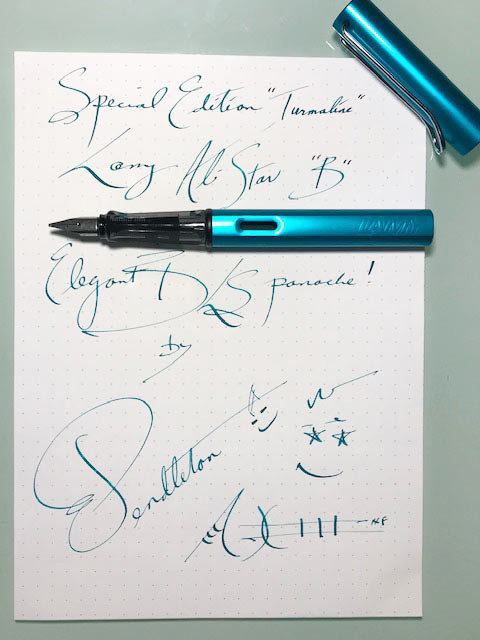 "Lamy Al-Star Special Edition Tourmaline ""B"" with BLS"