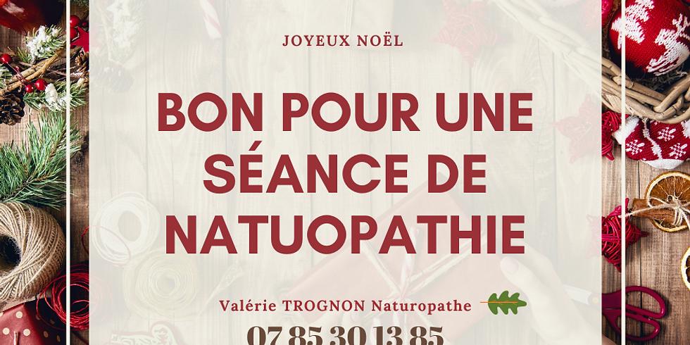Bon cadeau pour une séance de Naturopathie