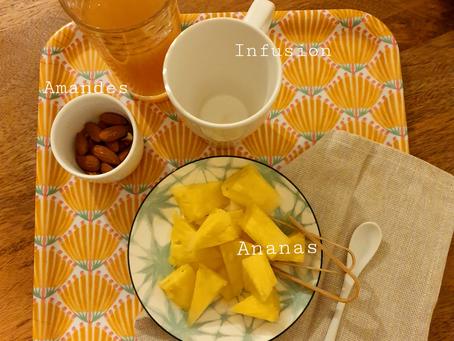 Petit-déjeuner frugivore
