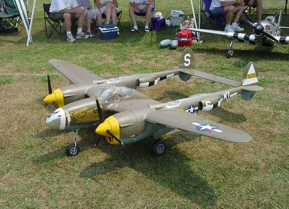 P-38 Lightning Short Kit by Ziroli