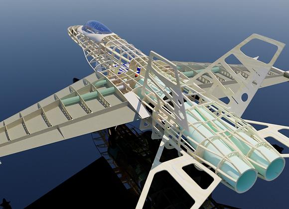 FA-18 Short Kit 1:8 by Custom Wings