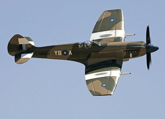 Spitfire MkXIV C 1/4 Short Kit by FOKKERC