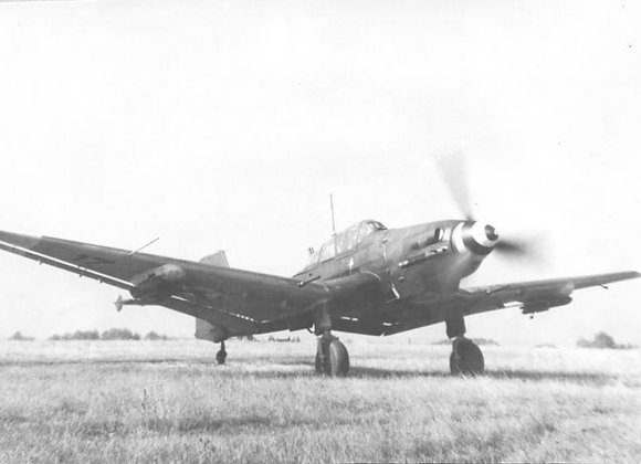 Ju-87 Stuka D3-5 1/4 Short Kit by FOKKERC