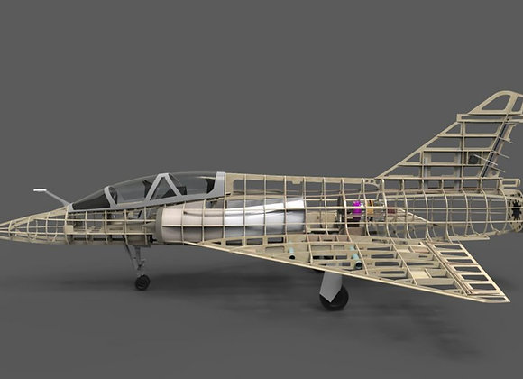 Mirage 2000V 1:4.5 Short Kit by Custom Wings