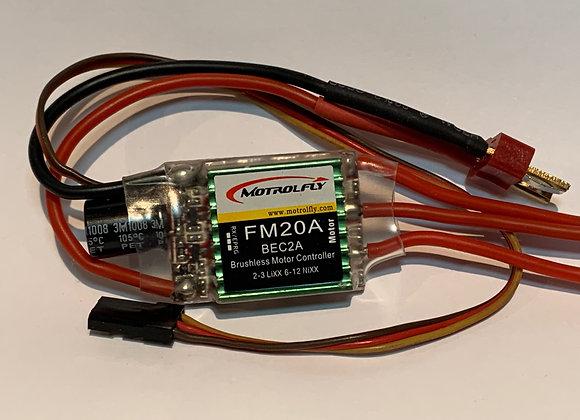 Motrolfly FM-20 amp Brushless Speed Controller