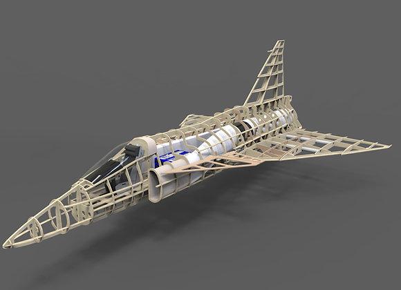Saab 37 Vigen Short Kit 1:9 by Custom Wings
