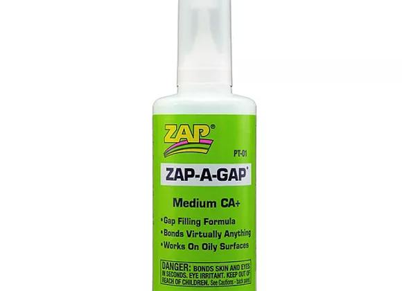 ZAP 2oz ZAP-A-GAP CA+ Medium Viscosity