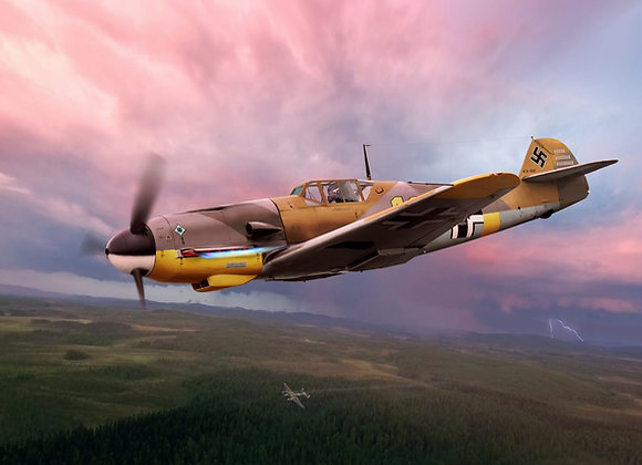 BF-109 F 1/4 Short Kit by FOKKERC