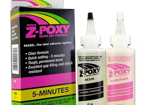 ZAP Z-POXY 5 Minute Epoxy 8oz