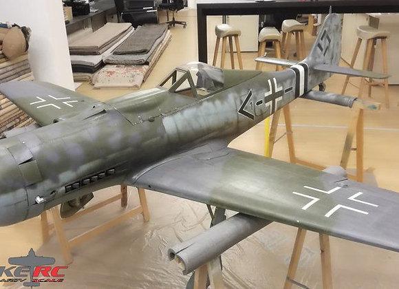 FW-190 D9 1/4 Short Kit by FOKKERC