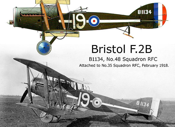 Bristol F2B Fighter Short Kit by Dave Anderson