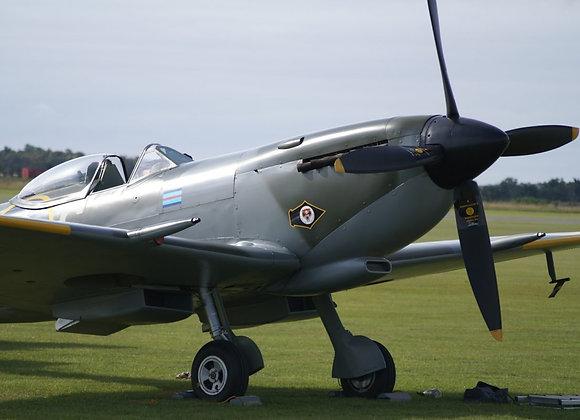 Spitfire MkXVI 1/4 Short Kit by FOKKERC