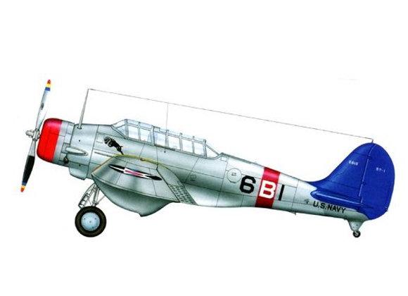 Northrop BT-1 Short Kit by David Anderson