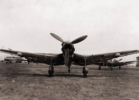 Ju-87 Stuka D3-5 1/3 Short Kit by FOKKERC