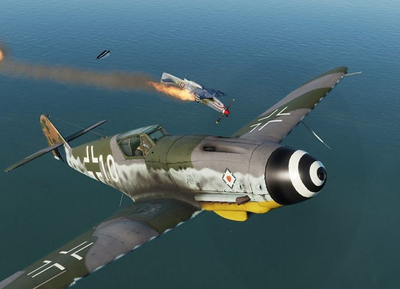 BF-109 K 1/4 Short Kit by FOKKERC